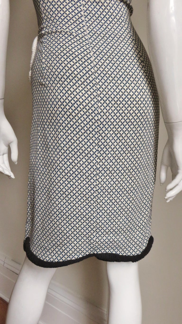 Stella McCartney New Mixed Pattern Cut out Dress For Sale 10