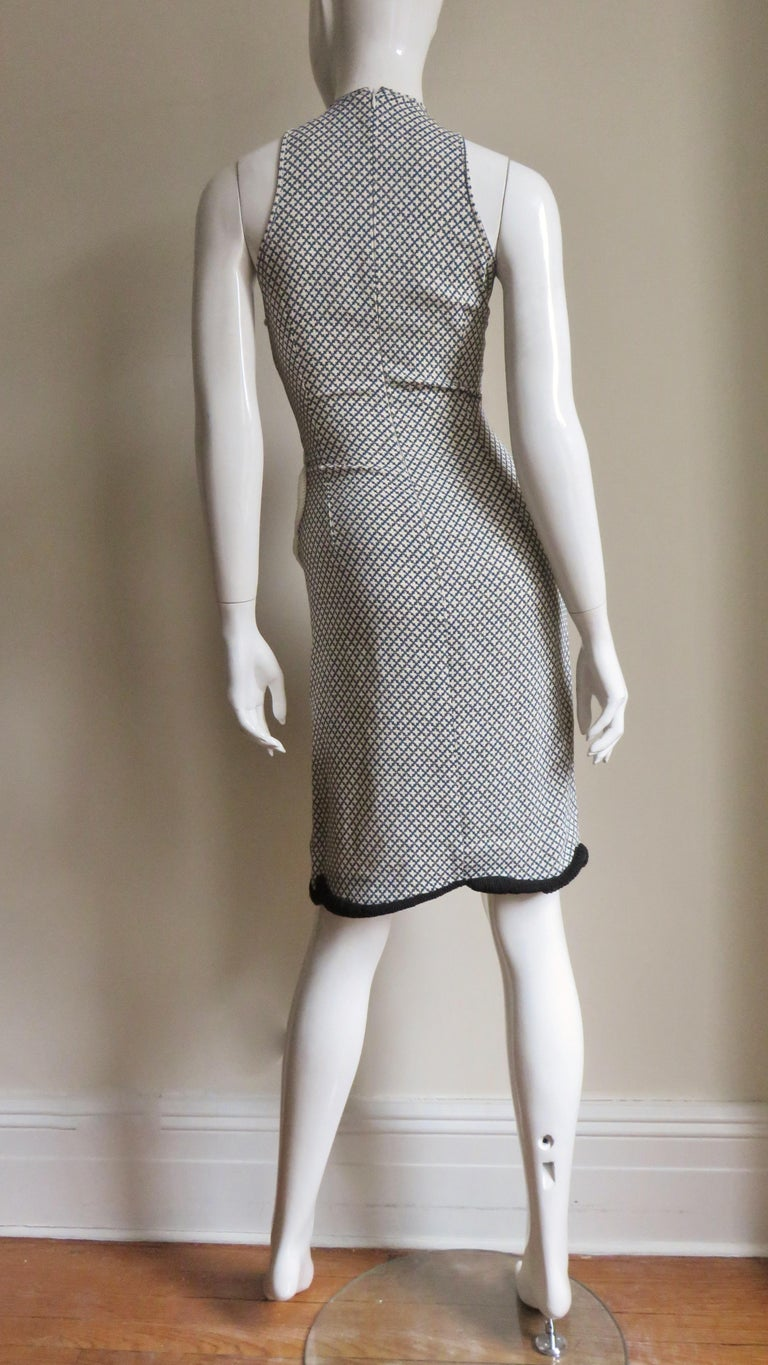 Stella McCartney New Mixed Pattern Cut out Dress For Sale 11