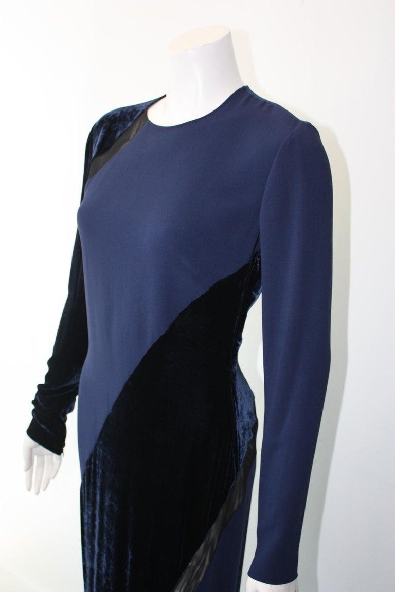 Women's Stella McCartney Navy  Gown For Sale