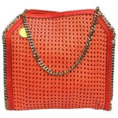 Stella McCartney Orange Leather Falabella Bag