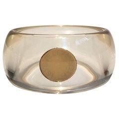 Stella McCartney Perspex clear Cuff bangle bracelet