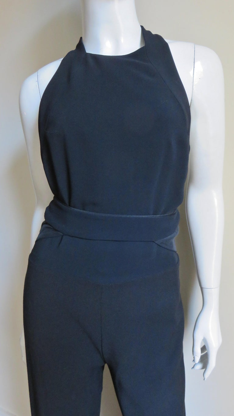 Stella McCartney Racerback Jumpsuit In Good Condition For Sale In Water Mill, NY