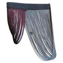 Stella McCartney Silk Fringe Belt