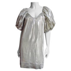 Stella McCartney Silver Silk Dress S/S 2007