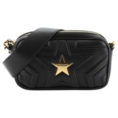 Stella McCartney Stella Star Convertible Waist Bag Quilted Faux Leather