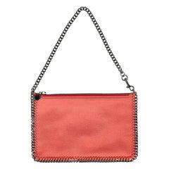 Stella Mccartney Woman Handbag Falabella Orange Faux Leather