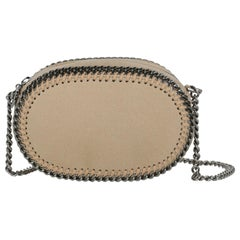 Stella Mccartney Woman Shoulder bag Falabella Beige Faux Leather