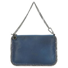 Stella Mccartney  Women   Shoulder bags Falabella Blue Faux Leather