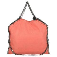 Stella Mccartney  Women   Shoulder bags  Falabella Orange Faux Leather