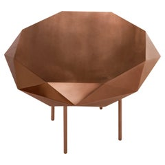 Stella Medium Coffee Table Rose Gold by Nika Zupanc