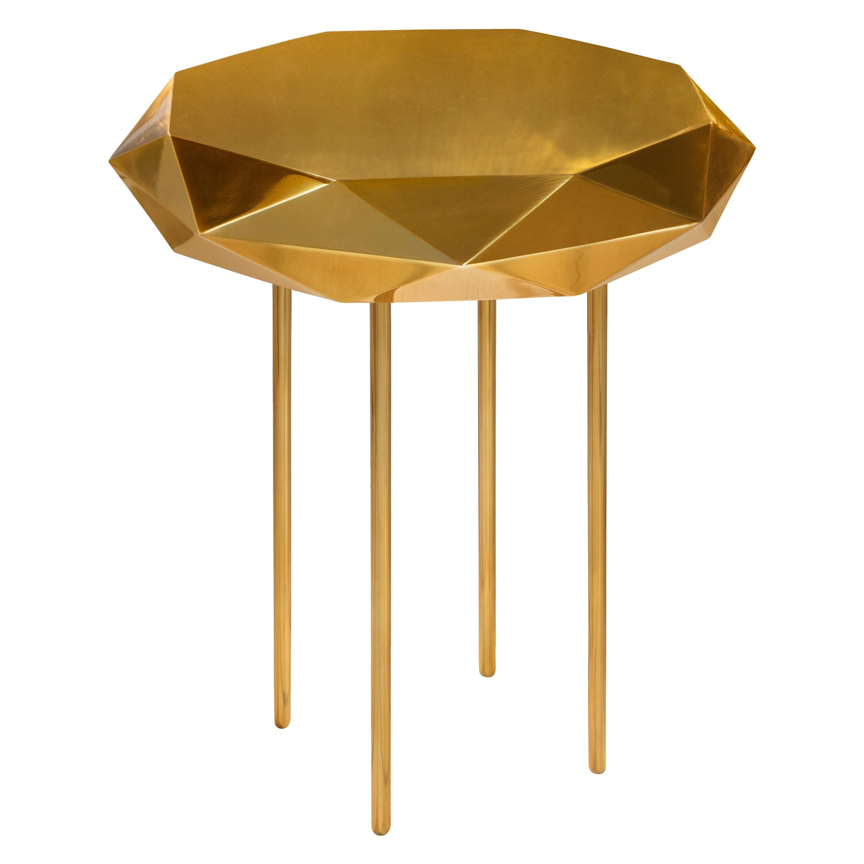 Stella Small Coffee Table Gold by Nika Zupanc