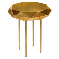 Stella Small Coffee Table Gold by Nika Zupanc