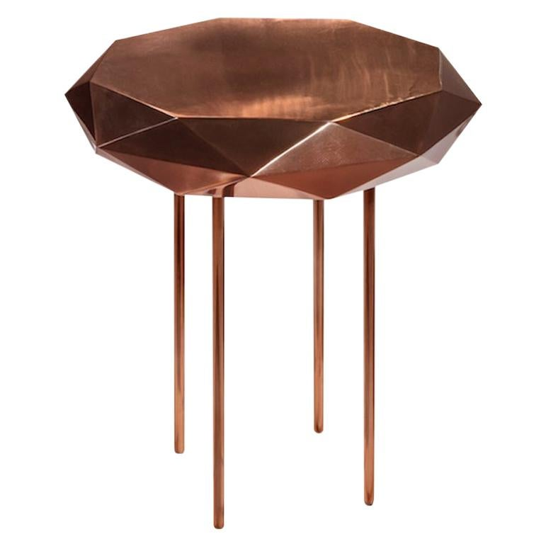 Stella Small Coffee Table Rose Gold by Nika Zupanc