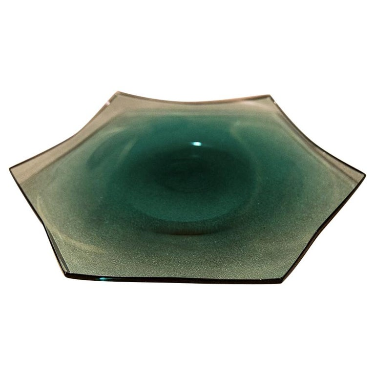 21st Century Alessandro Mendini Small Tray Murano Glass Various Colors For Sale