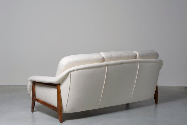 Brazilian Stella Sofa by Sergio Rodrigues For Sale
