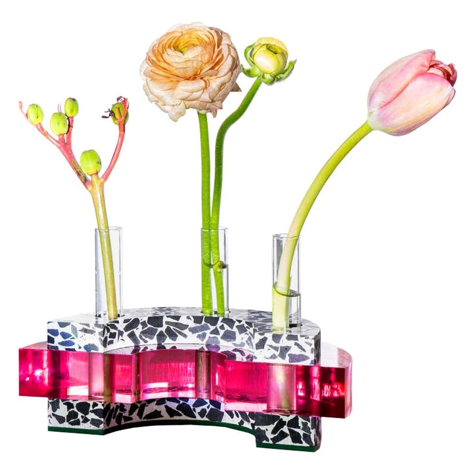 Stella Vessel in Berry 'Bud Vase'