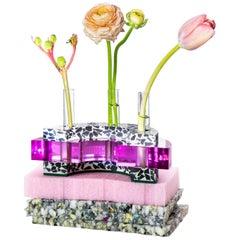Stella Vessel in Bubble Gum (Bud Vase)