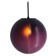 Stellar Pendant, Light, Aubergine Acetato, Minimal, European, 21st Century