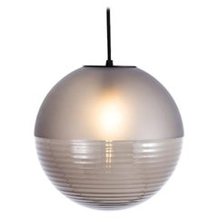 Stellar Pendant, Small, Light, Smoky Grey, Minimal, European, 21st Century