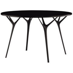 Stellarnova, Recycled Cast Aluminum Legs & Bamboo Dining Table by Made in Ratio
