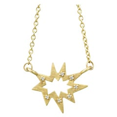 Stellina Nova Necklace with Diamonds