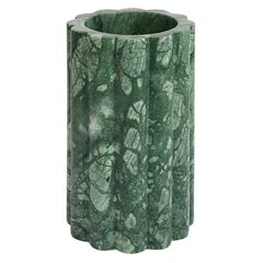Stelo Small Foresta Hand Carved Marble Vase by Greg Natale