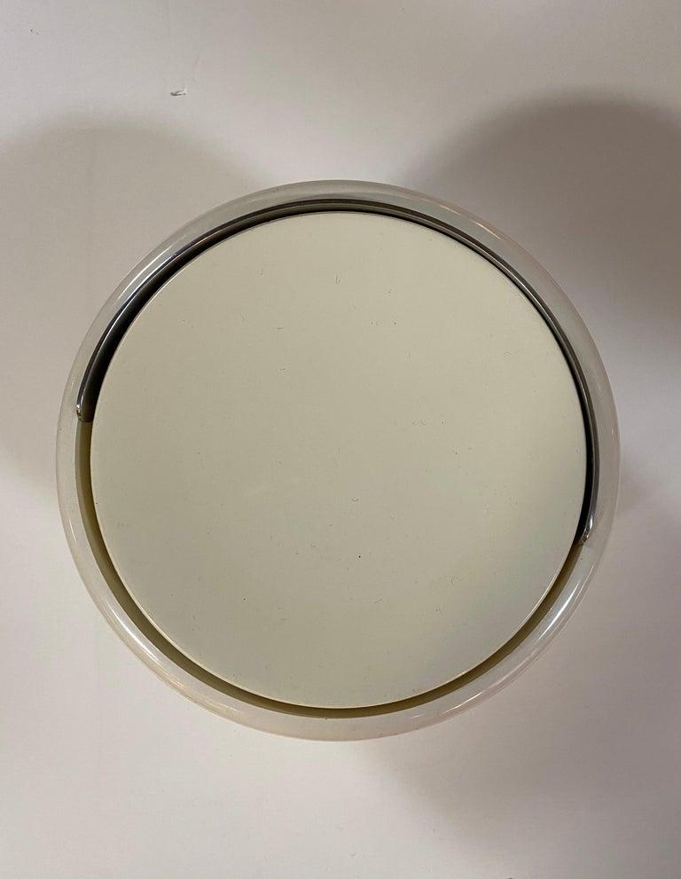 Mid-Century Modern Stelton Erik Magnusson Minimalist Off-White Ice Bucket For Sale