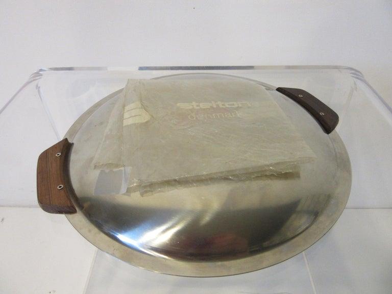 Stelton Pitcher / Tea Pot / Sugar Bowl / Tray 4 Pieces, Set Denmark 3