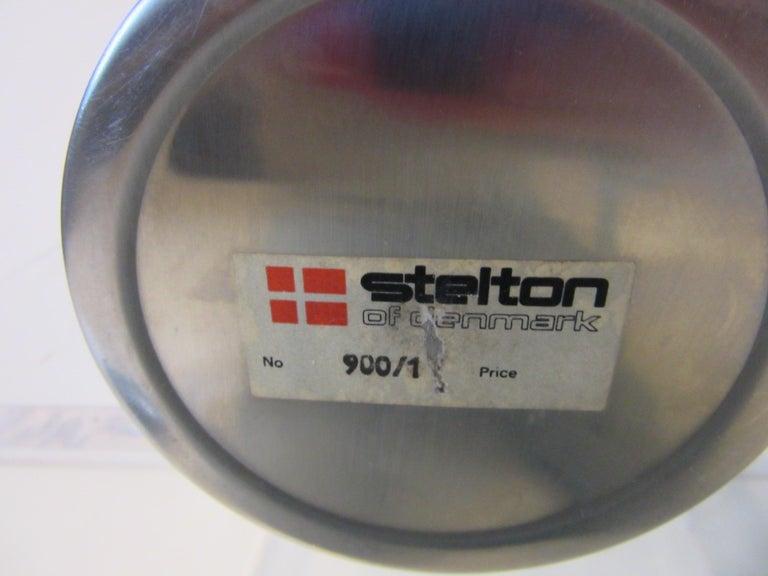 Stelton Pitcher / Tea Pot / Sugar Bowl / Tray 4 Pieces, Set Denmark 4