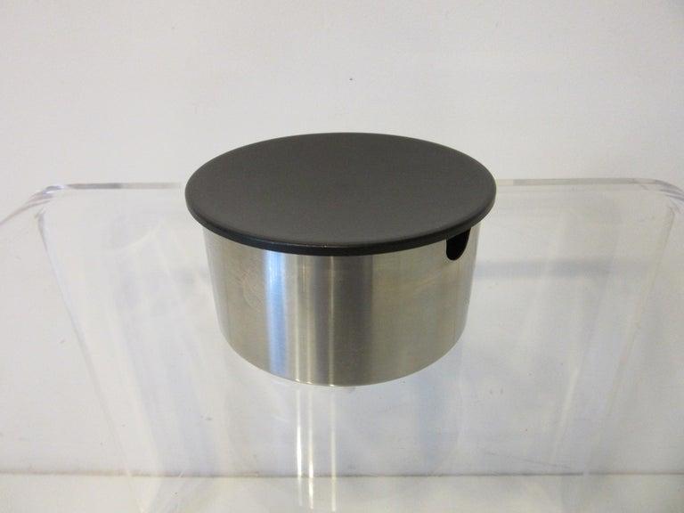 Stainless Steel Stelton Pitcher / Tea Pot / Sugar Bowl / Tray 4 Pieces, Set Denmark