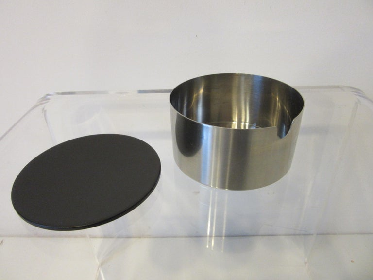 Stelton Pitcher / Tea Pot / Sugar Bowl / Tray 4 Pieces, Set Denmark 1