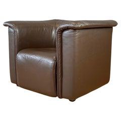 Stendig Club Chair from Their Barrett Seating Series, Brown Leather Austria