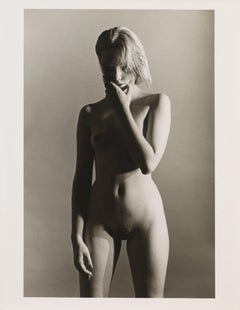 Nude by Lupino, New York 1984. Black & white Fashion modern photography