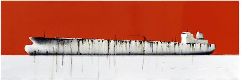 Stephane Joannes Still-Life Painting - Tanker 29