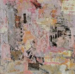 Random Thoughts, Mixed Media on Canvas