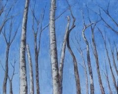 Birches, Painting, Oil on Canvas
