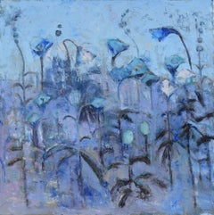 Blue March, Painting, Oil on Canvas