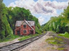 Elliotsville, Painting, Oil on Canvas
