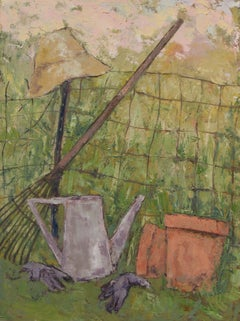 Garden Hat, Painting, Oil on Canvas
