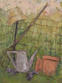 Garden Hat, Painting, Oil on Canvas