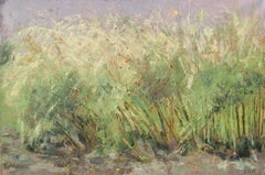 November Asparagus Patch, Painting, Oil on Canvas