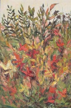 October Garden, Painting, Oil on Canvas