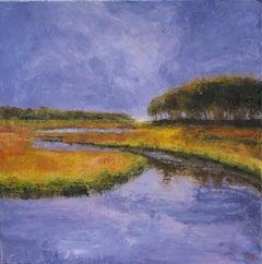 Rachel Carson Reserve #4, Painting, Oil on Canvas