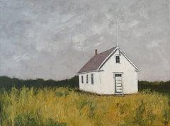 Schoolhouse, Painting, Oil on Canvas