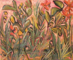 Snake in the Grass, Painting, Oil on Canvas