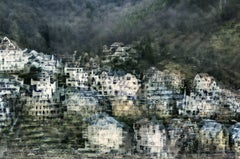 Heidelberg- semi abstract contemporary urban cityscape photograph
