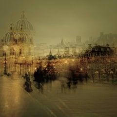 Magic Paris II- semi abstract contemporary urban cityscape photograph