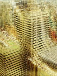 Maigo Desu 1- semi abstract contemporary urban cityscape photograph