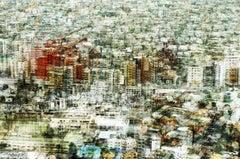 Maigo Desu 2- semi abstract contemporary urban cityscape photograph