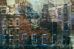 New York 4- semi abstract contemporary urban cityscape photograph